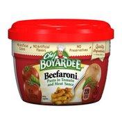 Chef Boyardee Beefaroni Microwave  Bowl