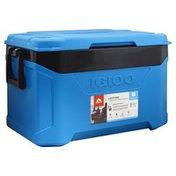 Igloo Cooler, Blue/Gray, 50 Quart