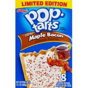 Pop-Tarts Toaster Pastries, Frosted, Maple Bacon
