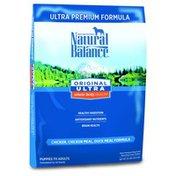 Natural Balance Dog Food, Ultra Premium, Chicken, Chicken Meal, Duck Meal Formula