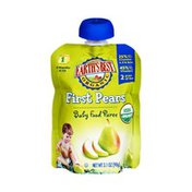 Earth's Best Organic Stage 1 First Pears Baby Food Puree