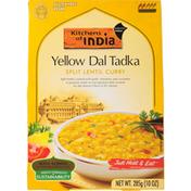Kitchens of India Split Lentil Curry, Yellow Dal Tadka, Medium