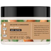 Love Beauty And Planet Body Butter Shea And Sandalwood