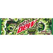 Mtn Dew Soda, Thrashed Apple, 12 Pack