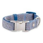 Bond Small Chmry Navy Dog Collar