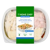Home Chef Oven Kit Sour Cream And Onion Chicken Penne