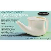 Ancient Secrets Nasal Cleansing Pot, Original Ceramic Model