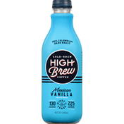 High Brew High Brew Mexican Vanilla, Dark Roast, Cold Brew Coffee