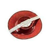 Le Cadeaux Antiqua Red Chip & Dip Two Bowl Set