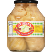 Dobrova Sour Cabbage Leaves