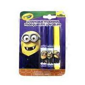 Crayola Minions Gone Batty Washable Pip-Squeaks Markers