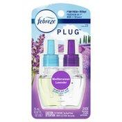 Febreze Plug Air Freshener Scented Oil Refill, Mediterraenan Lavender