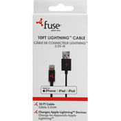 Fuse Cable, Lightning, 10 Feet