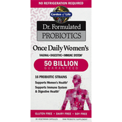 Garden of Life Probiotics, Once Daily Women's, Vegetarian Capsules