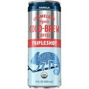 Chameleon Organic Tripleshot Vanilla Flavored Cold Brew Coffee