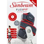 Sunbeam Heated Wrap, FlexFit