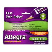 Allegra Topical Analgesic/Skin Protectant Anti-Itch Cream Rapid Relief