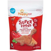 Happy Tot Super Foods Puffed Organic Tomato Basil & Cheddar Ancient Grain Snack