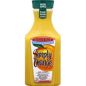 Simply Orange Medium Pulp Calcium And Vitamin D Juice Bottle