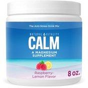 Natural Vitality Anti-Stress Drink Mix, Raspberry-Lemon Flavor