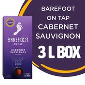 Barefoot On Tap Cabernet Sauvignon Red Wine Box Wine