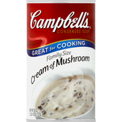 Campbell's Soup, Condensed, Cream of Mushroom, Family Size