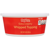Hy-Vee Whipped Topping, Extra Creamy