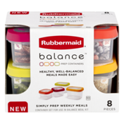 Rubbermaid Prep Containers