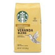Starbucks Blonde Roast Ground Coffee — Veranda Blend