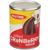 Valu Time Jellied Cranberry Sauce