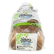 Nature's Promise Bread, 100% Whole Grain