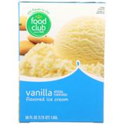 Food Club Vanilla Flavored Ice Cream