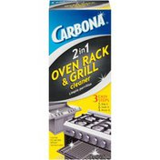Carbona 2 in 1 Oven Rack & Grill Cleaner