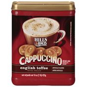 Hills Bros. English Toffee Cappuccino Drink Mix