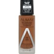 Almay Foundation, Comfort Matte, Warm Almond 240
