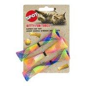 SPOT Kitty Fun Tubes Catnip Cat Toy
