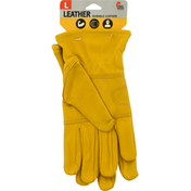 MidWest Quality Gloves, Inc. Gloves, Durable Leather, Large