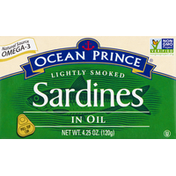 Crown Prince Sardines in Oil, Lightly Smoked