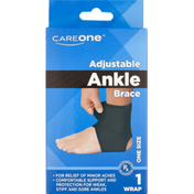 CareOne Neoprene Ankle Support One Size