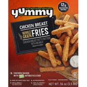 Yummy Chicken Breast, Whole Grain, Fries