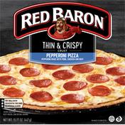 Red Baron Thin & Crispy Crust Pepperoni Pizza