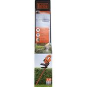 Black & Decker Hedge Trimmer, 18 Inch, Corded
