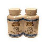 Natural Factors 5000 IU Vitamin D3