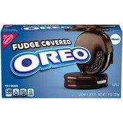 Oreo Fudge Covered Chocolate Sandwich Cookies, Original Flavor, 1 Box