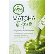 Aiya Matcha, To Go