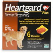 Heartgard Chewable Tablets for 51 to 100 Pound Dogs