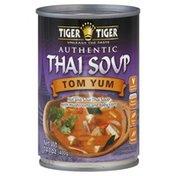 Tiger Tiger Soup, Authentic Thai, Tom Yum