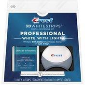 Crest 3D Whitestrips Professional White with Light Teeth Whitening Kit
