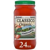 Classico Organic Di Napoli Tomato & Basil Pasta Sauce