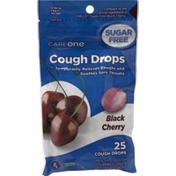 CareOne Cough Drops, Sugar Free, Black Cherry Flavor